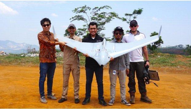 Izin operasi terra drone