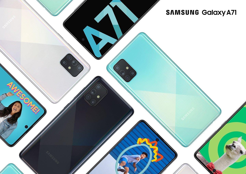 Samsung Galaxy A71, Harga Samsung Seri A 2020