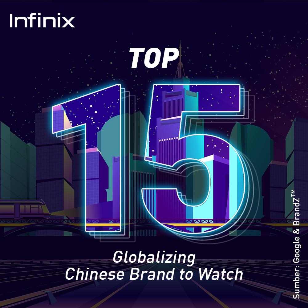 infinix top 15 brand cina