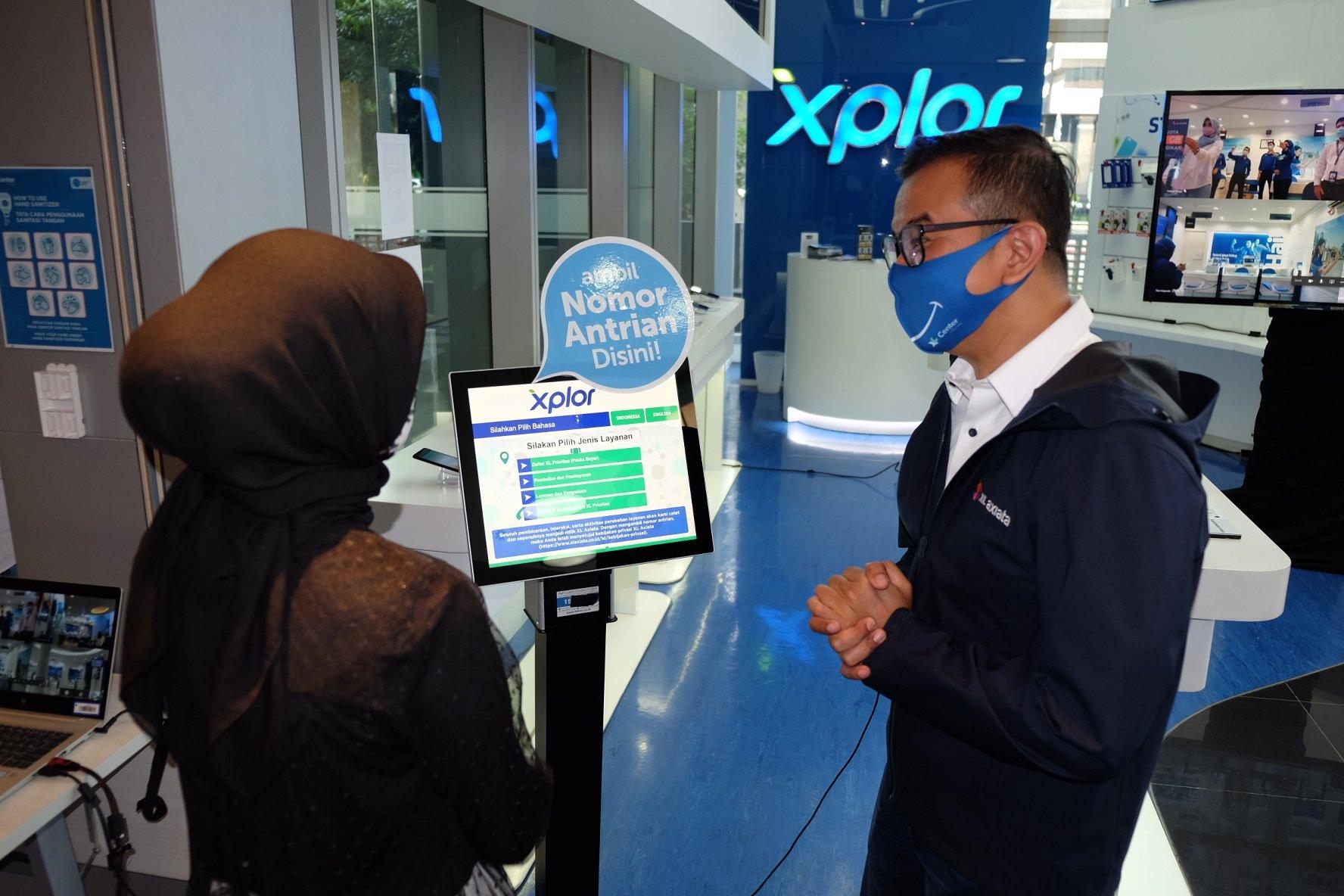 XL Axiata berinovasi melalui penggunaan teknologi digital untuk meningkatkan level pelayanan kepada pelanggan dengan menghadirkan Layanan Online XL Center