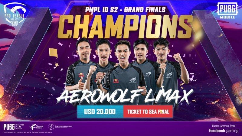Aerowolf Limax finals PMPL