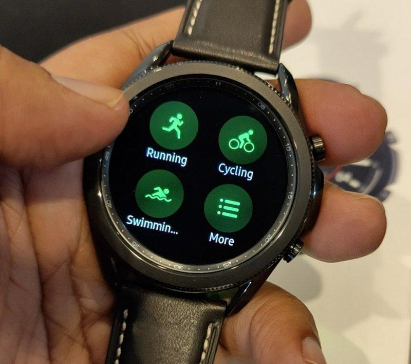 kesan pertama Galaxy watch3