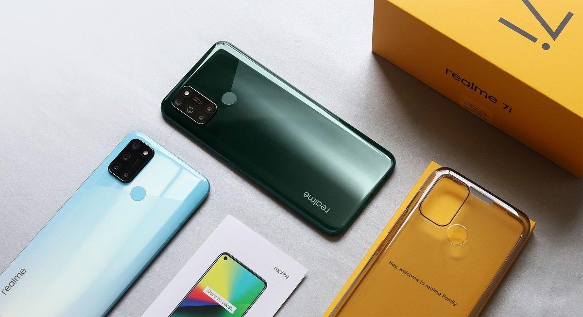 Hp realme 2 jutaan, Realme 7i Unboxing, smartphone ram 8gb