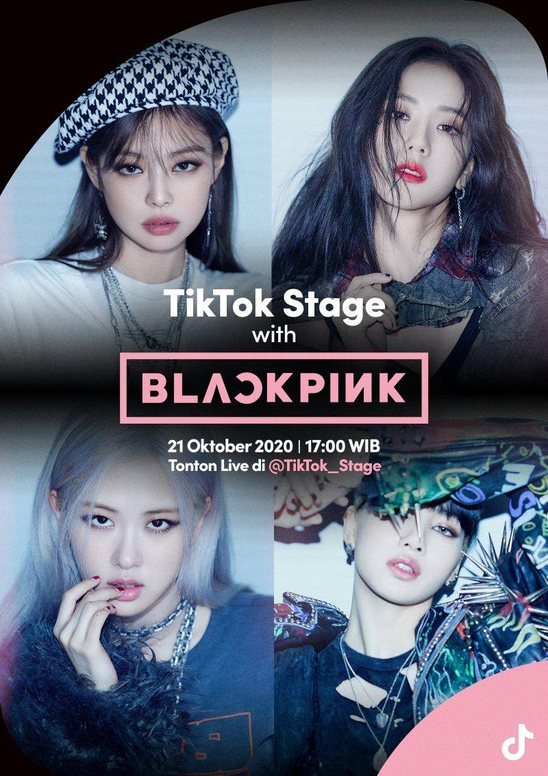 blackpink live di tiktok