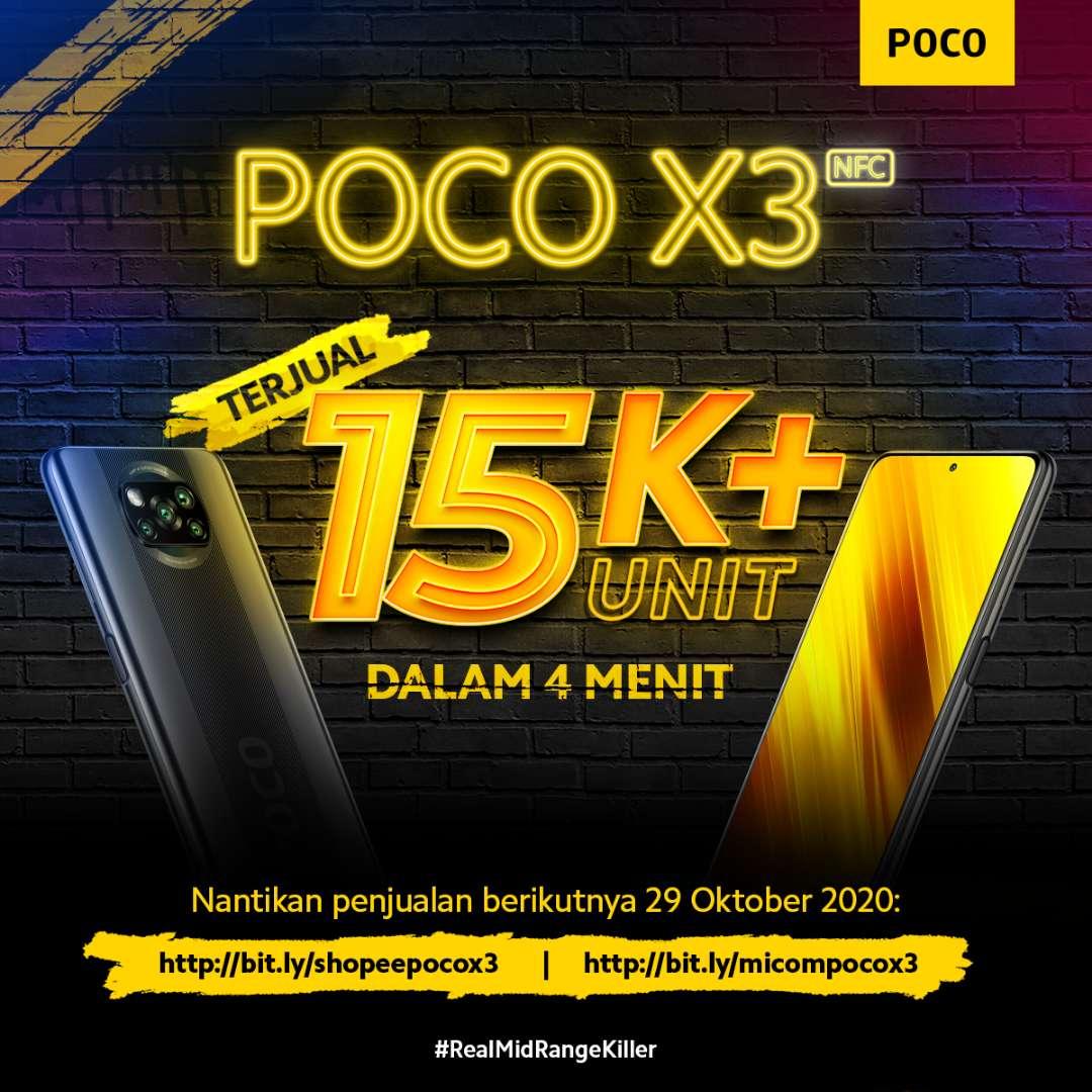 POCO X3 NFC habis