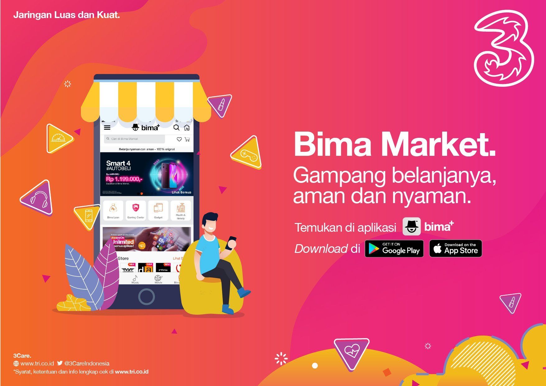 peningkatan akses bima market