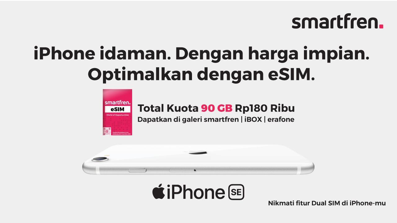 eSIM iPhone SE