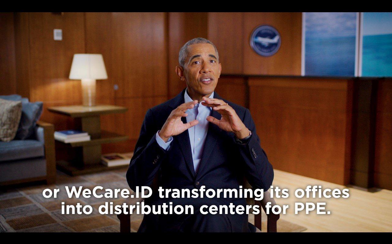 obama apresiasi wecare.id