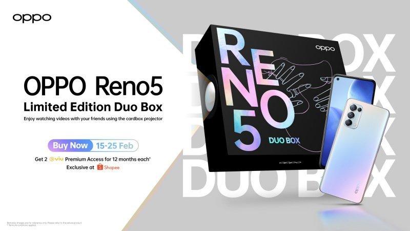 OPPO Reno5 Duo Box