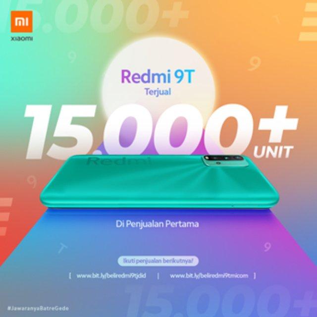 penjualan  Redmi 9T