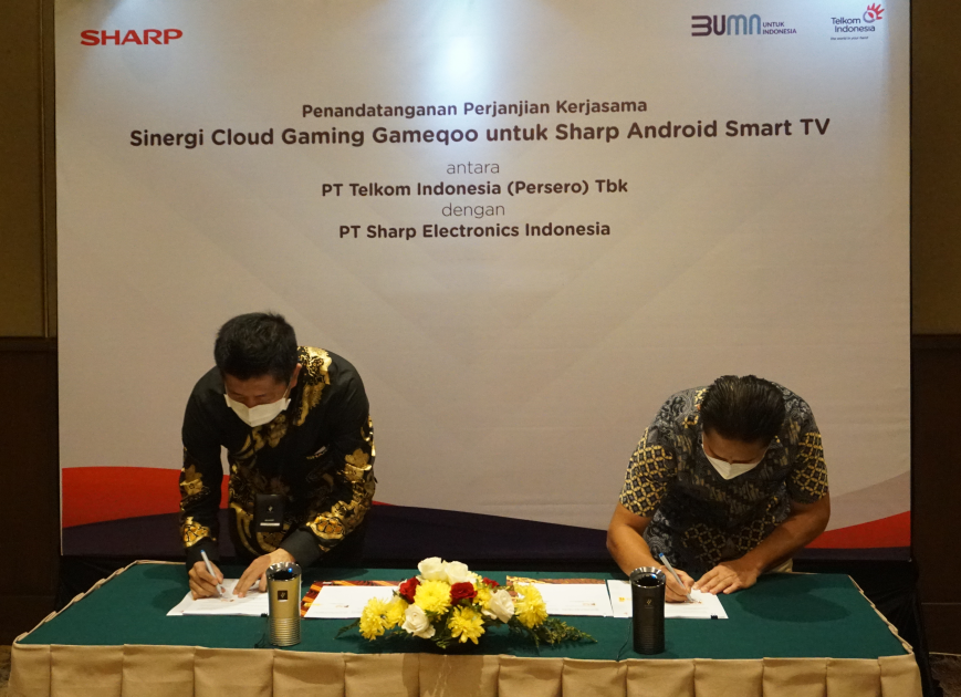 smart tv gaming sharp