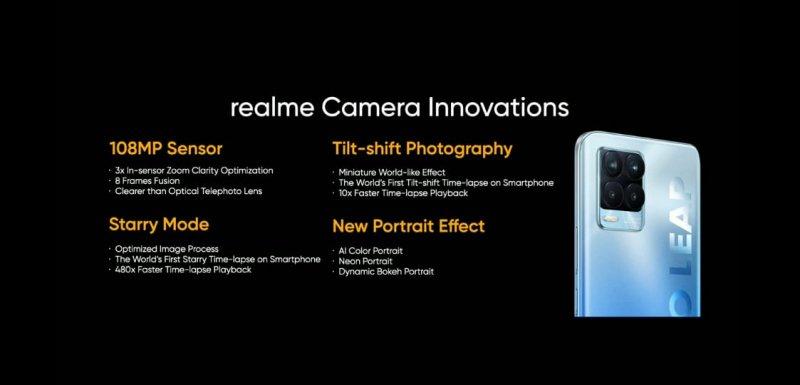Fitur kamera Realme 8 Pro