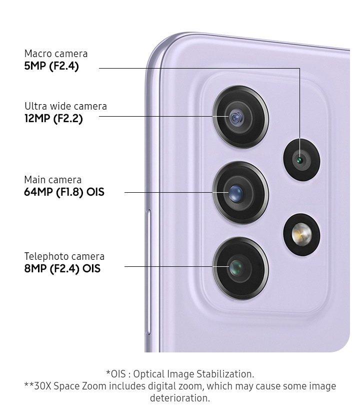 Harga dan spesifikasi Samsung Galaxy A72