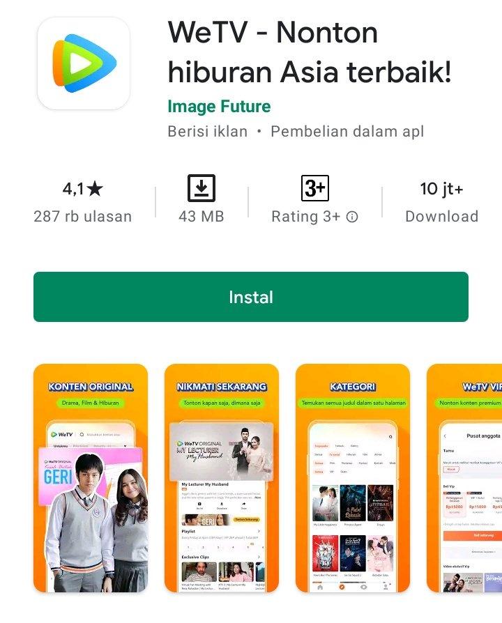 aplikasi Nonton Drama Korea (Drakor) Gratis 2021
