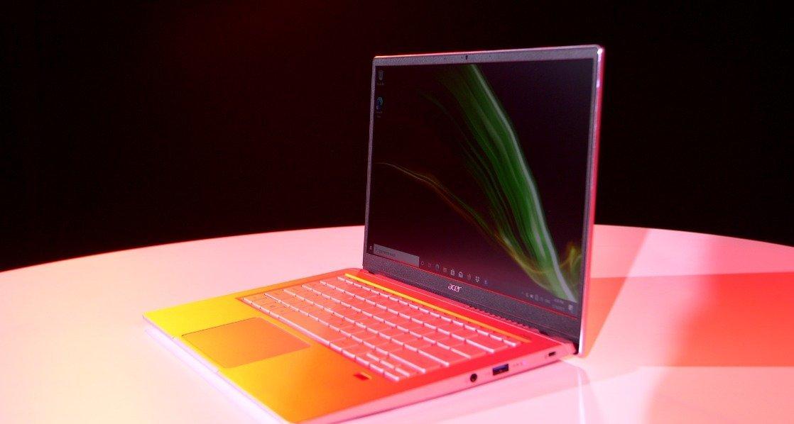Peluncuran Laptop Acer dengan AMD Ryzen 5000
