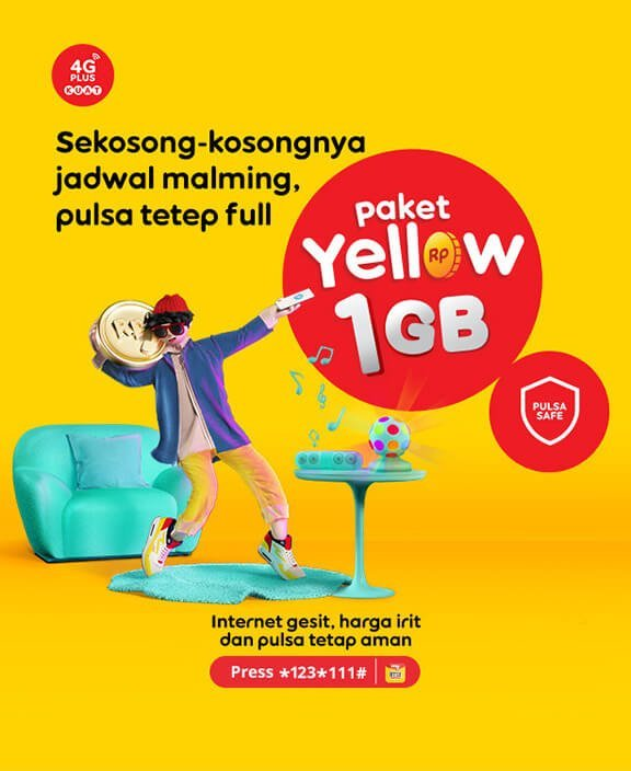 Paket internet murah Indosat 2021