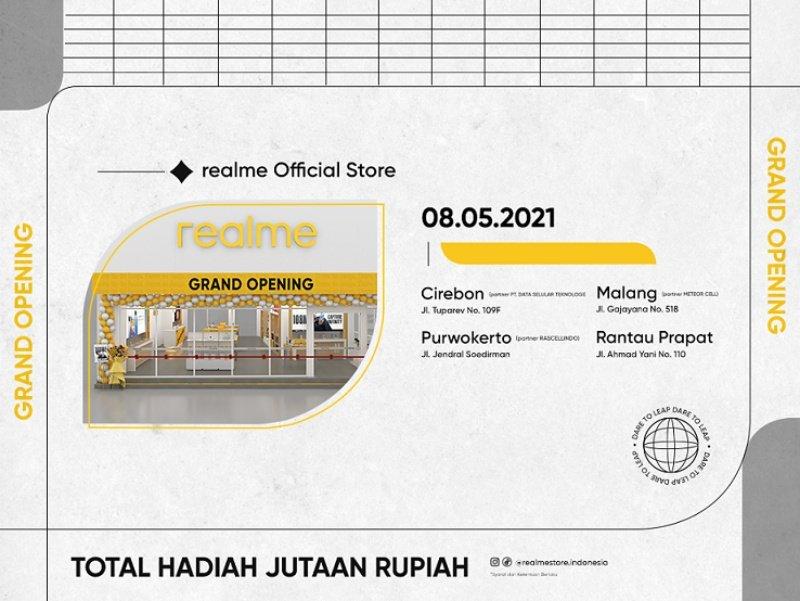 empat realme Official Stores