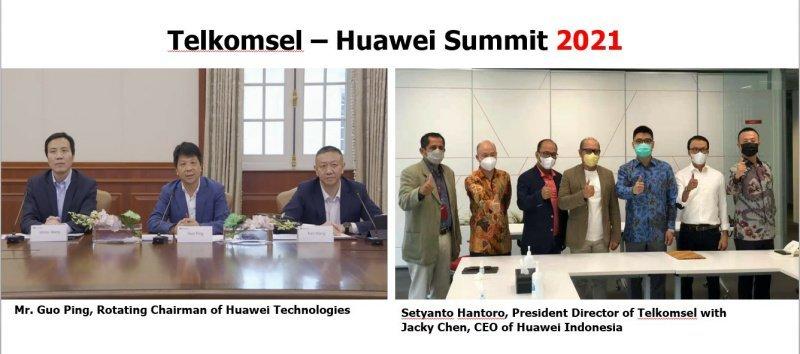 Pengembangan SDM Huawei Telkomsel