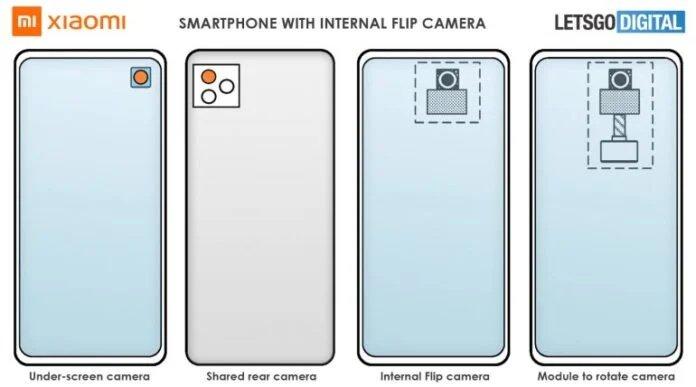 Paten Kamera Flip Xiaomi