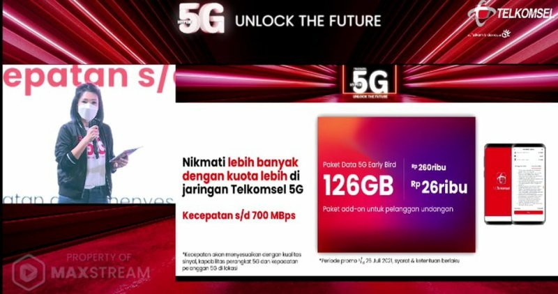 paket data 5G Telkomsel