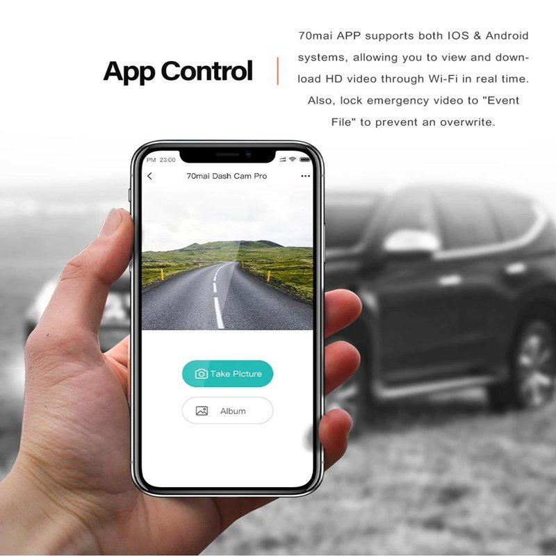 70Mai Car Dash Camera Pro Plus