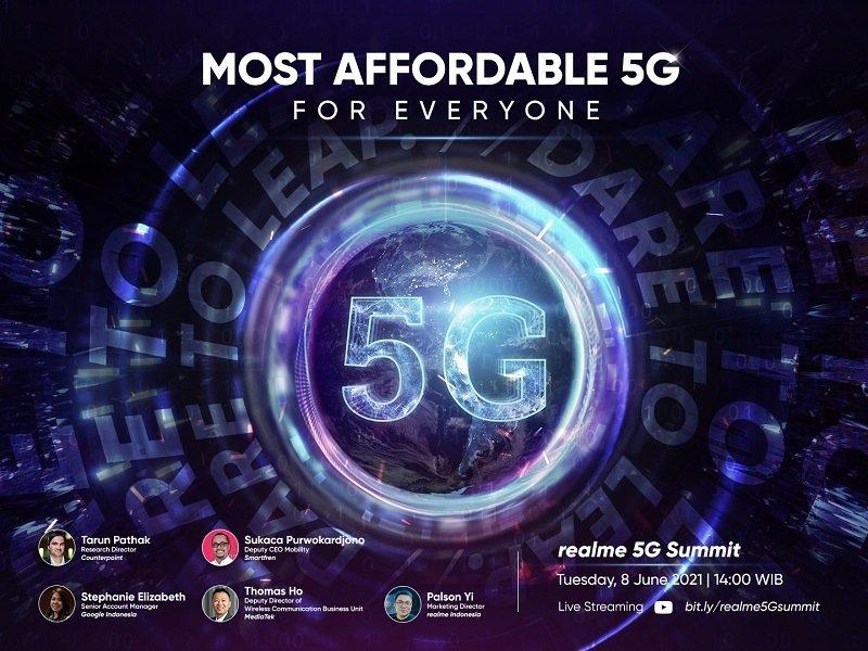 smartphone 5g realme