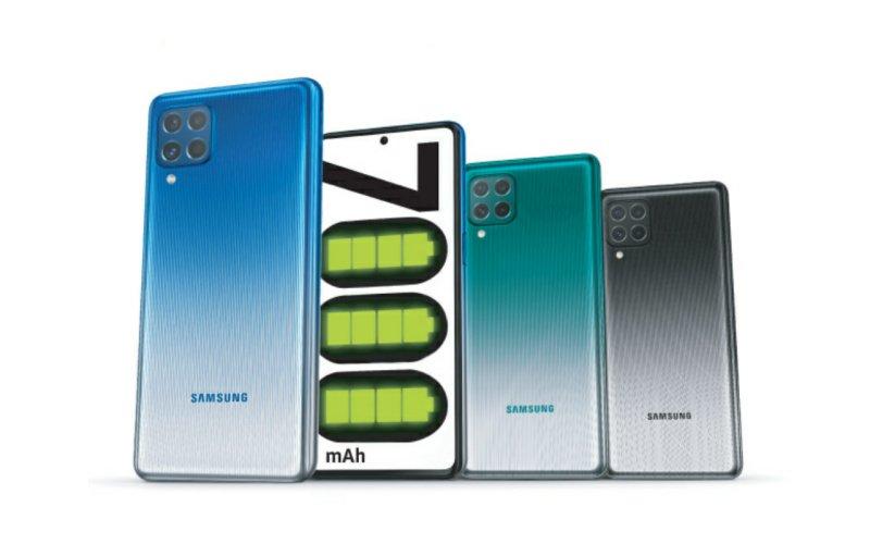 Hp baterai besar 2021, Samsung Galaxy M62, Hp Samsung Baterai Besar