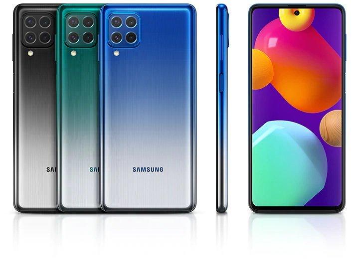 , Spesifikasi Samsung Galaxy M62