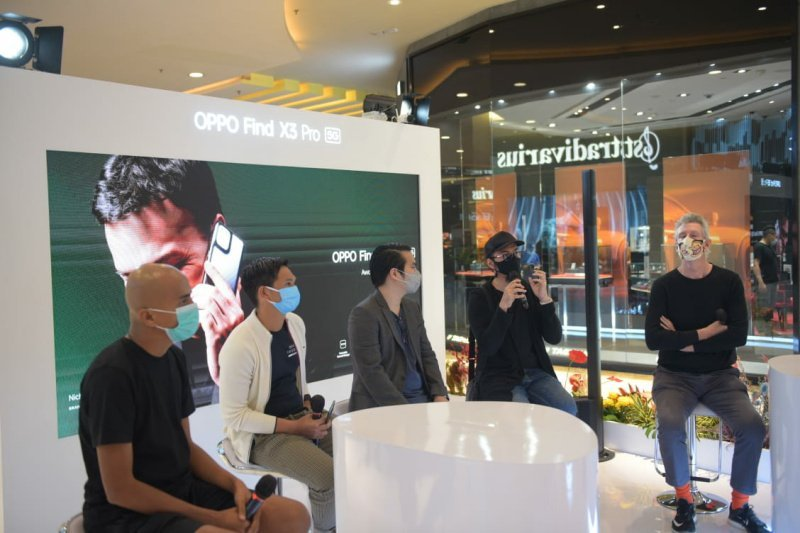 OPPO Find X3 Pro 5G Exhibition