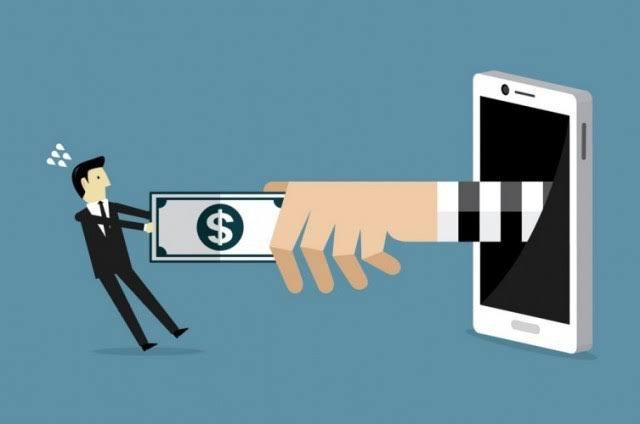 cara melaporkan pinjol ilegal, Ciri Pinjaman online ilegal (Pinjol)