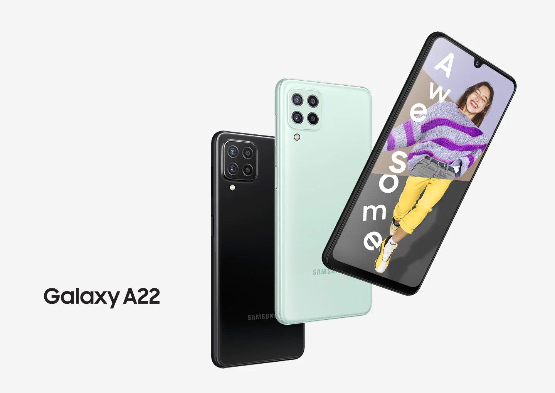 Hp Samsung Ram 6GB,, Samsung Galaxy A22, perbedaan samsung galaxy a22 5G dan Galaxy A22