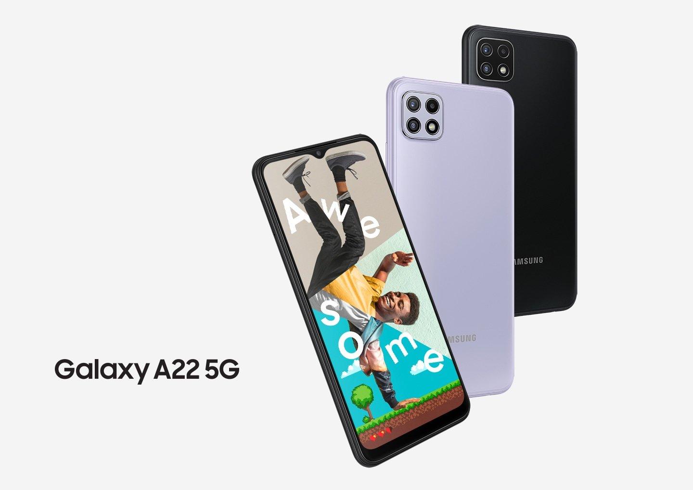 Hp Samsung Ram 6GB, HP 5G murah, Samsung Galaxy A22 5G