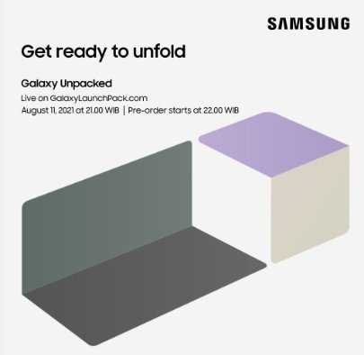 Peluncuran Samsung Galaxy Z Fold3 dan FLip3