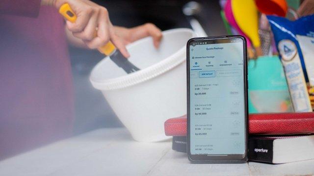 paket data telkomsel gofood