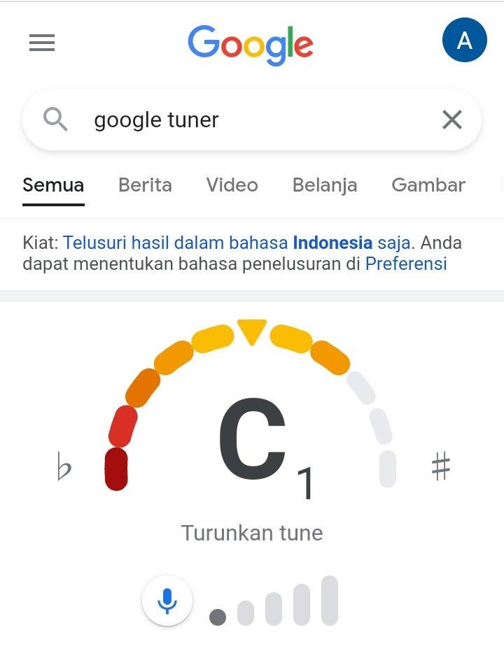 Google search tuning gitar